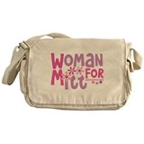 Woman FOR Romney Messenger Bag