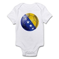 Bosnia Football Infant Bodysuit