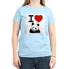 Cute Panda heart T-Shirt