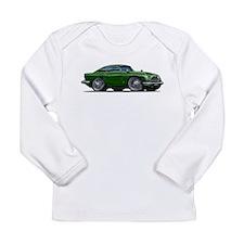 DB5 Green Car Long Sleeve Infant T-Shirt