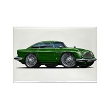 DB5 Green Car Rectangle Magnet