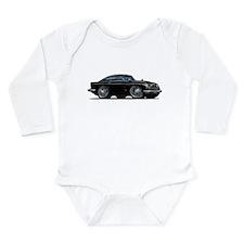 DB5 Black Car Long Sleeve Infant Bodysuit