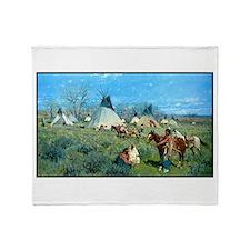 Best Seller Wild West Throw Blanket