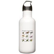 Dragonflies of North America Water Bottle