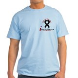 With All My Heart Melanoma T-Shirt