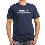 Moms Drive Economy Men's Fitted T-Shirt (dark)