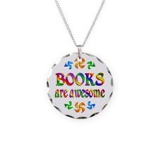 Books are Awesome Necklace