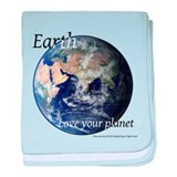 Love Your Planet baby blanket