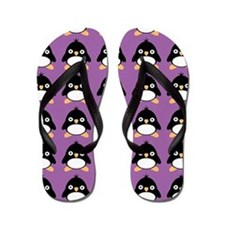 Penguin Lover Flip Flops