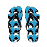 Penguin Bird Flip Flops