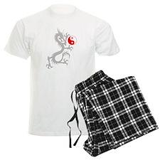 Yin Yang Dragon pajamas