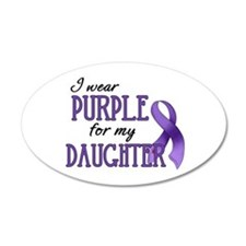 Wear Purple - Daughter 38.5 x 24.5 Oval Wall Peel