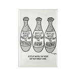 Bottle Water Failures Rectangle Magnet (10 pack)