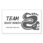 Silver Snakes, Team Sticker (Rectangle)