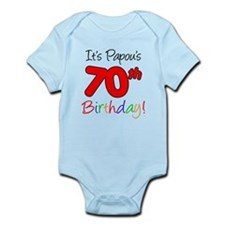 Papou's 70th Birthday Onesie