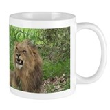 Mug with Angry Male Lion