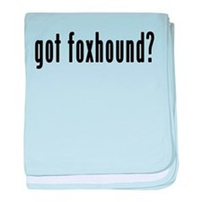 GOT FOXHOUND baby blanket