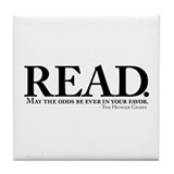 READ. Tile Coaster