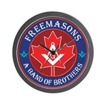Canadian Band of Brothers Wall Clock