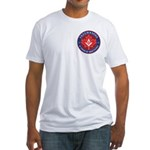 Canadian Band of Brothers Fitted T-Shirt