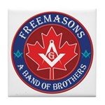 Canadian Band of Brothers Tile Coaster