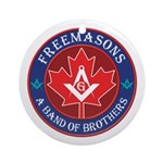 Canadian Band of Brothers Ornament (Round)