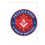 Canadian Band of Brothers Postcards (Package of 8)
