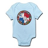 Panama Flag World Cup No Labe Onesie
