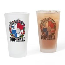 Panama Flag World Cup Footbal Drinking Glass
