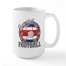 Costa Rica Flag World Cup Foo Mug