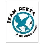 Team Peeta Small Poster