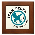 Team Peeta Framed Tile