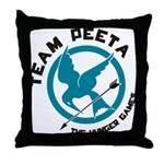 Team Peeta Throw Pillow