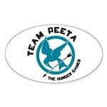 Team Peeta Sticker (Oval)
