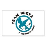 Team Peeta Sticker (Rectangle)
