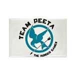 Team Peeta Rectangle Magnet