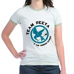 Team Peeta Jr. Ringer T-Shirt