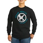 Team Peeta Long Sleeve Dark T-Shirt