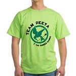 Team Peeta Green T-Shirt