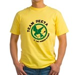 Team Peeta Yellow T-Shirt