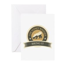 Honey Badger Bring It Greeting Cards (Pk of 10)