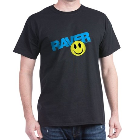 Raver Smilie Dark T-Shirt