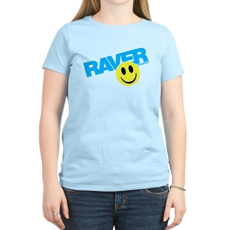 Raver Smilie Women's Light T-Shirt