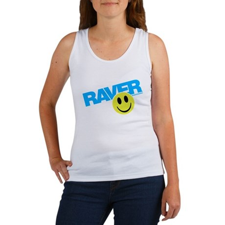 Raver Smilie Women's Tank Top
