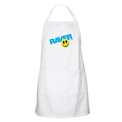 Raver Smilie Apron