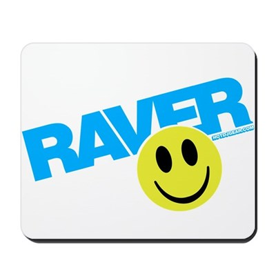 Raver Smilie Mousepad