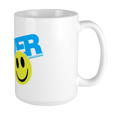 Raver Smilie Large Mug