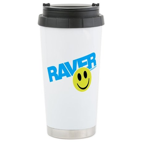Raver Smilie Ceramic Travel Mug