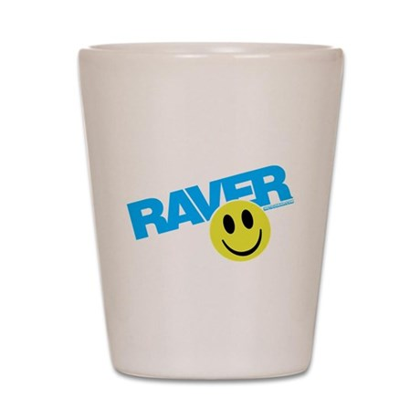Raver Smilie Shot Glass