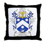 Ackerman Coat of Arms, Family Throw Pillow